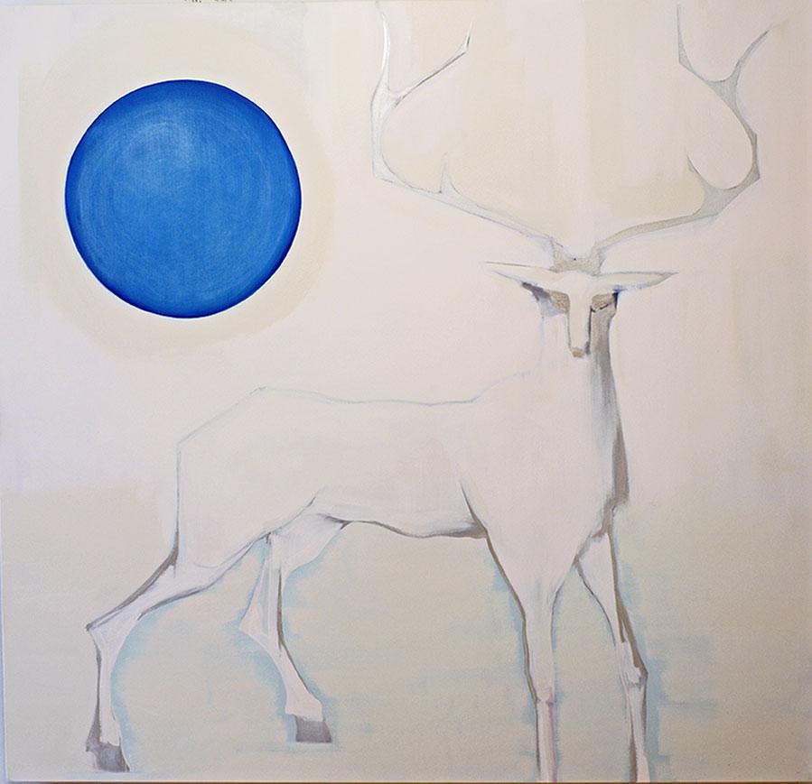 Jason Nickel White Stag